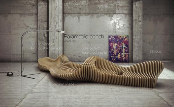 Formakers Parametric Bench Oleg Soroko