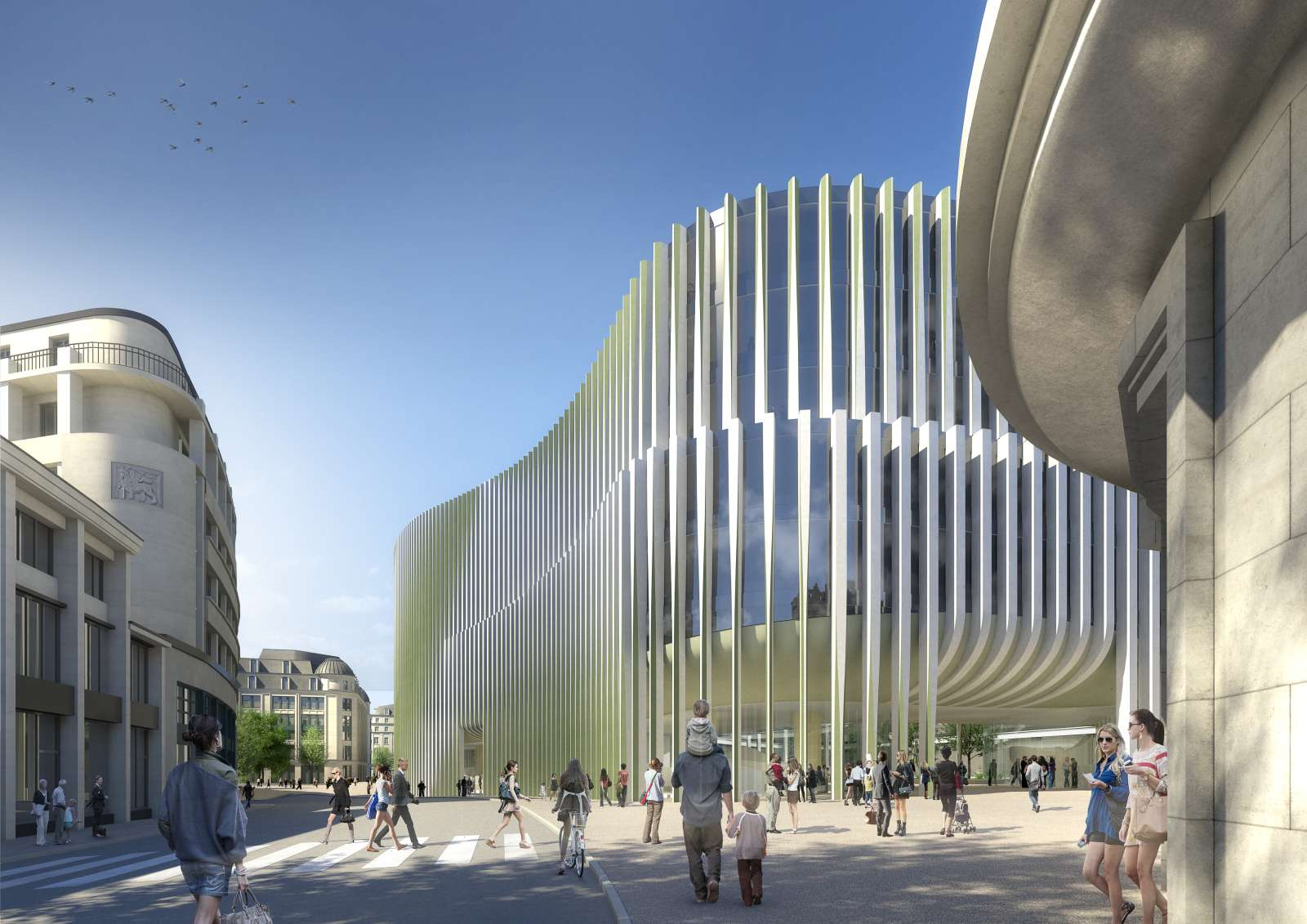 Formakers New Headquarters For Bnp Paribas Fortis