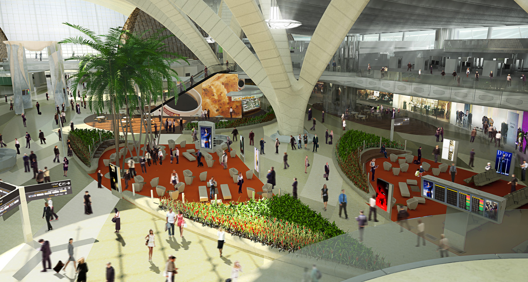 Formakers abu dhabi international airport kpf for Hispano international decor abu dhabi