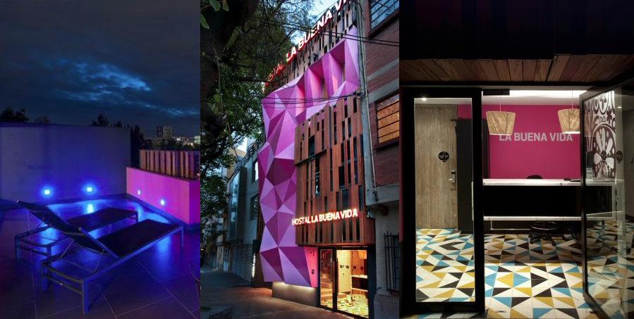 formakers hostal la buena vida arco arquitectura