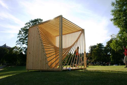 Formakers organic cube s ren korsgaard for Maison cube bois