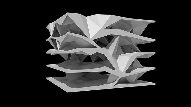 Formakers oblique circulation benjamin dillenburger for Architecture oblique