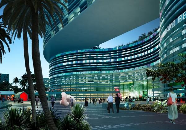 Formakers Miami Beach Scraps Oma S Winning Convention Center Design Oma S