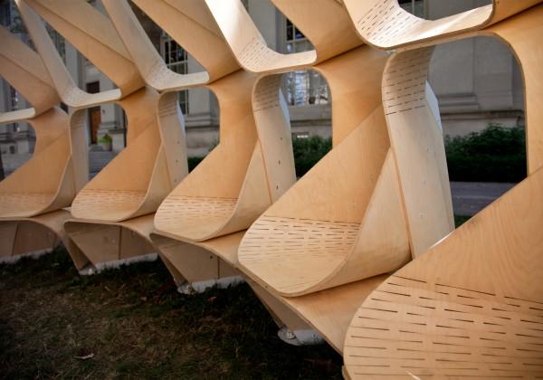 Formakers Kerf Pavilion Mit Architecture