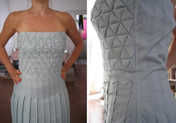 Formakers Origami Tessellation Dress Romina Goransky