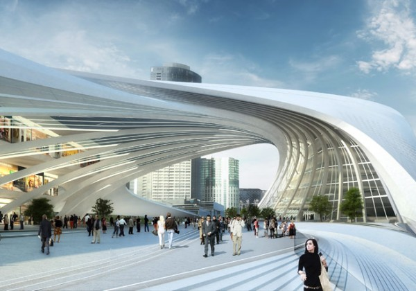 Formakers flinders street station zaha hadid for Parametric architecture zaha hadid