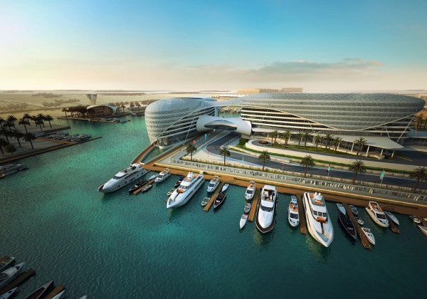 Formakers the yas hotel asymptote architecture for Asymptote architecture yas hotel
